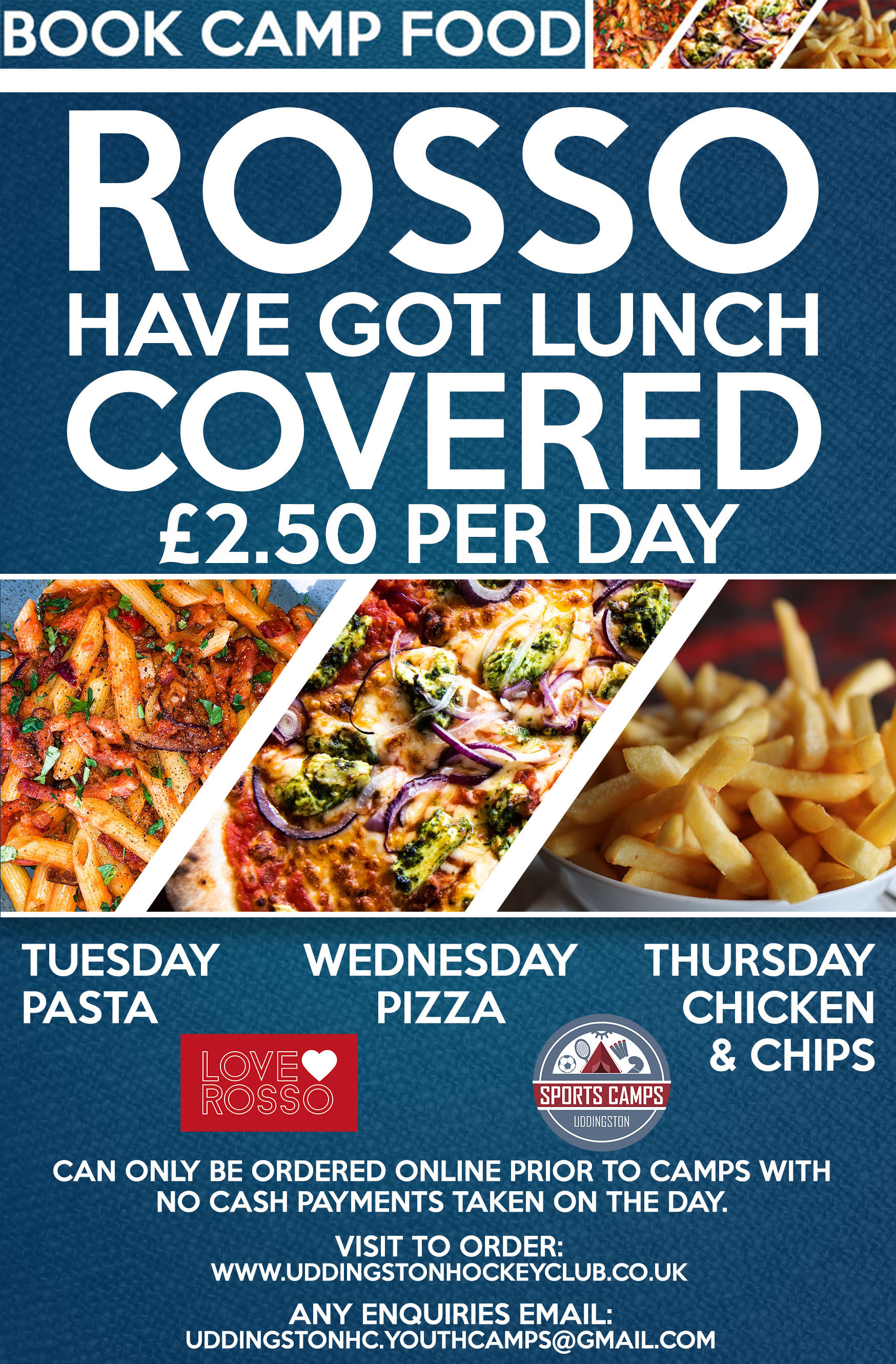 ROSSO Have Got Lunch Covered for Summer Camps!!!