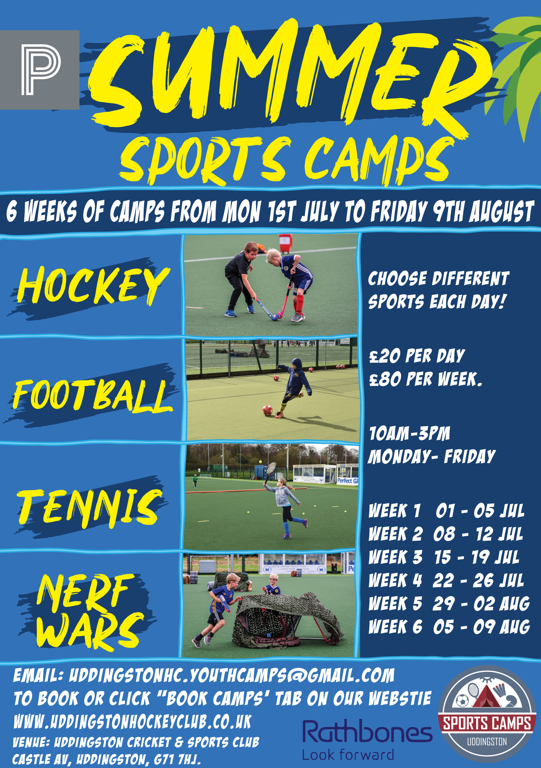 Summer Camps Launched with New Multi Sport Option