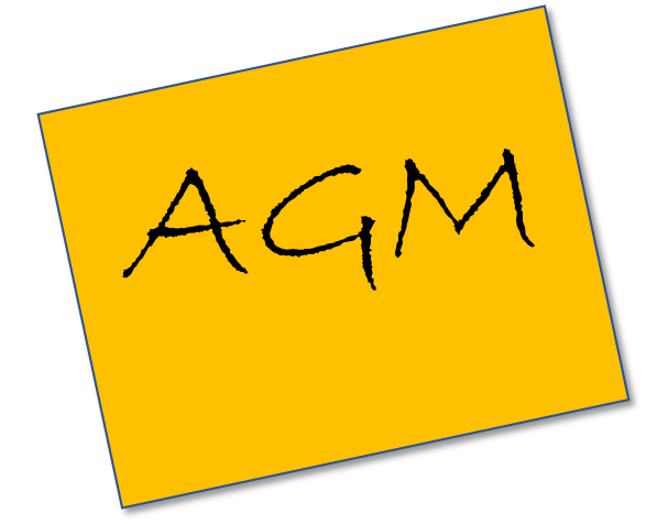 UC&SC Notice of AGM - Sunday 25th March at 6.30pm